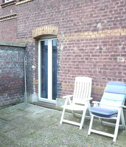 Terrasse der EG-Wohnung