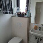 Bad mit Hänge WC