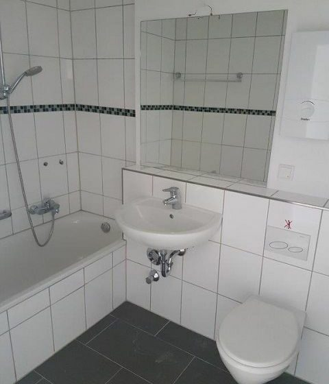 Bad einer Wohnung