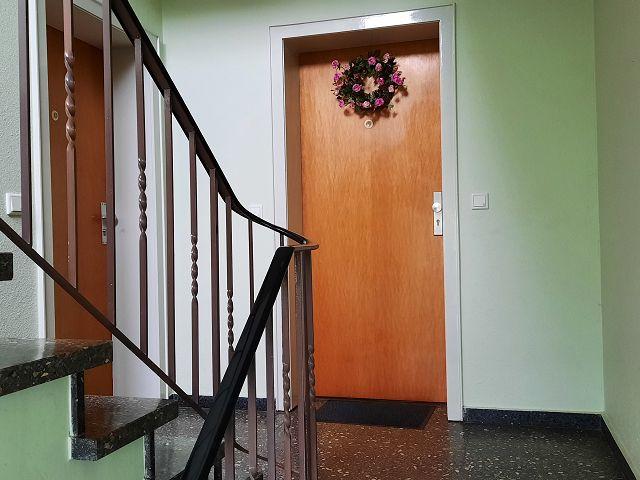 Treppenhaus der Wohnanalge